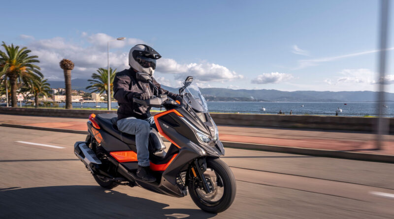 2021 kymco dt x360 adventurous scooter