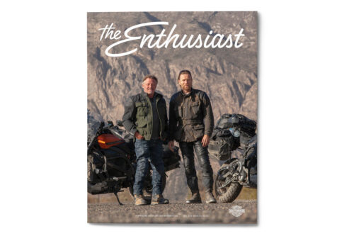 h-d the enthusiast