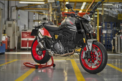 2021 ducati monster production factory in italy