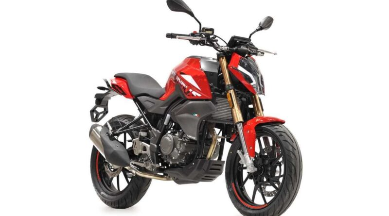 2021 hanway furious nk 125 s red