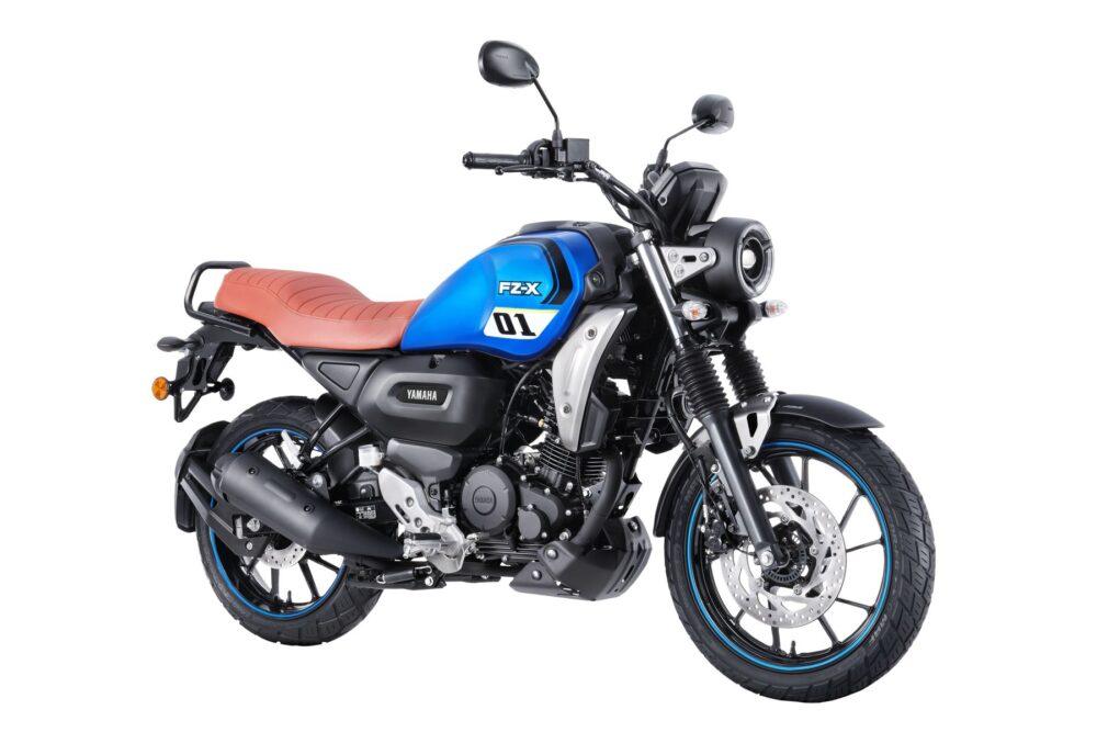 2022 yamaha fz-x blue