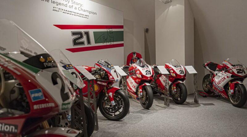 ducati museum troy bayliss