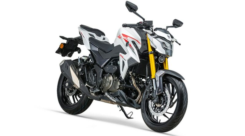 haojue dr 250 white front