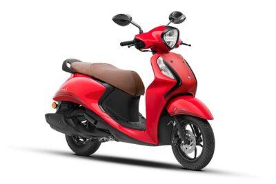 yamaha fascino 125 fi hybrid red