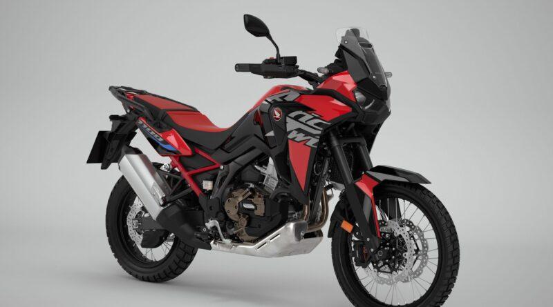 2022 honda crf1100l africa twin red