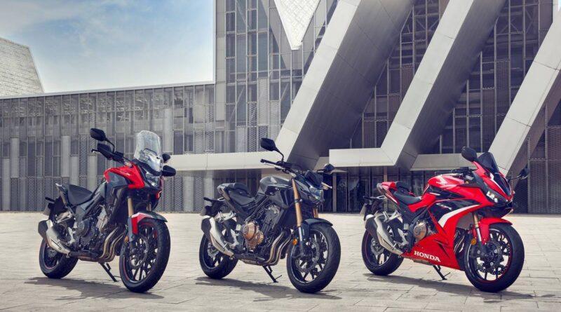 2022 honda trio 500cc line