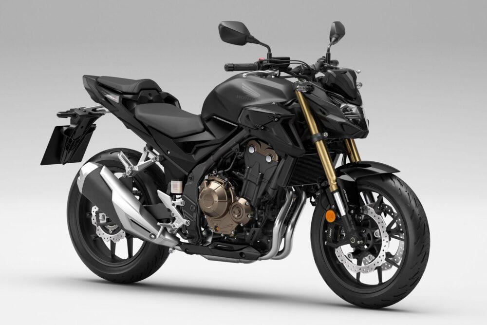 2022 honda cb500f black