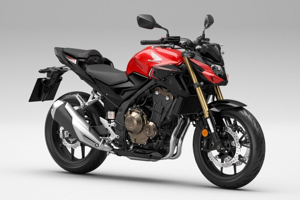2022 honda cb500f red