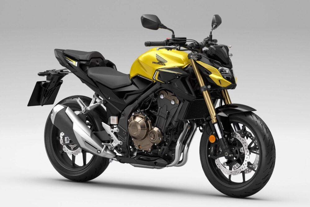 2022 honda cb500f yellow