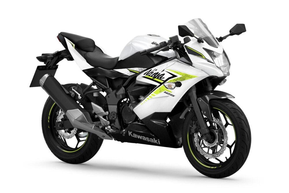 2022 ninja 125 white front