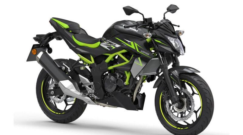 2022 z125 black front