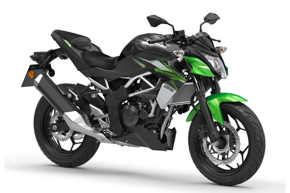 2022 z125 green front