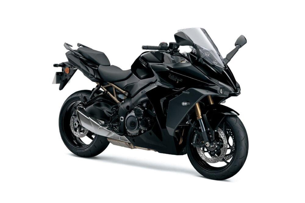 2022 suzuki gsx-s1000gt black front right