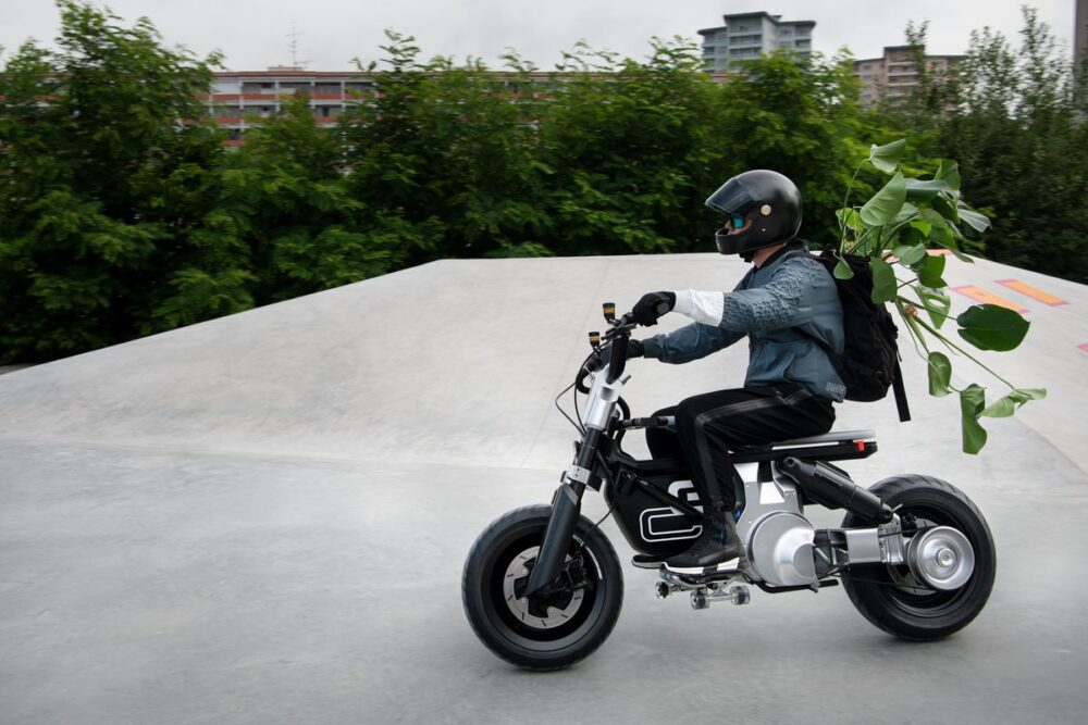bmw ce 02 electric motorcycle