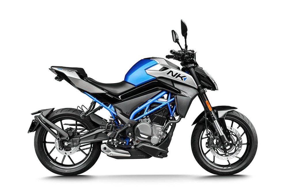 2022 cfmoto 250nk abs blue