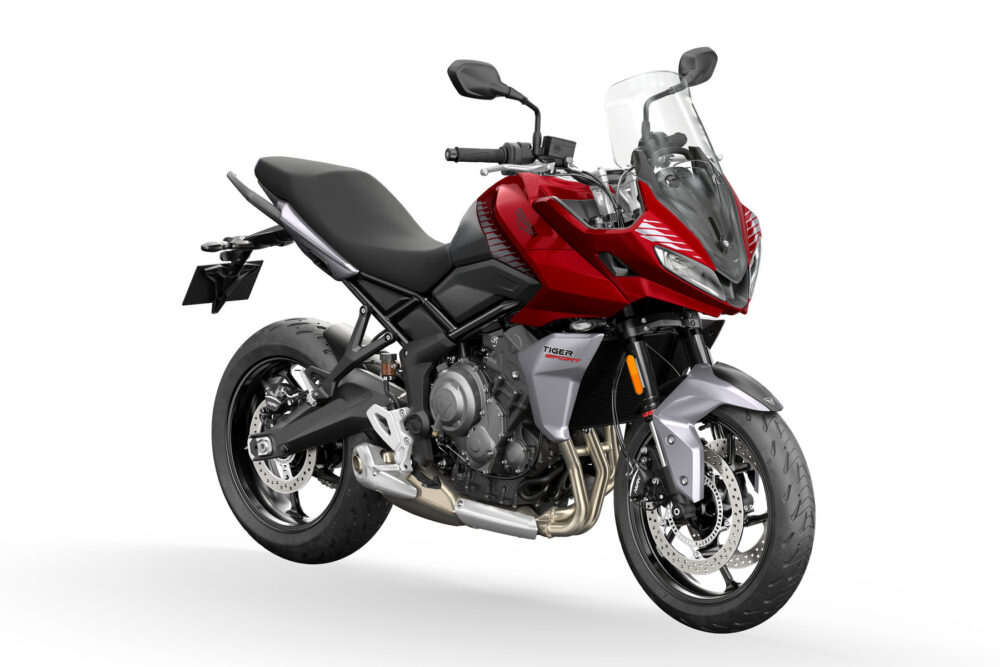 2022 tiger sport 660 red front