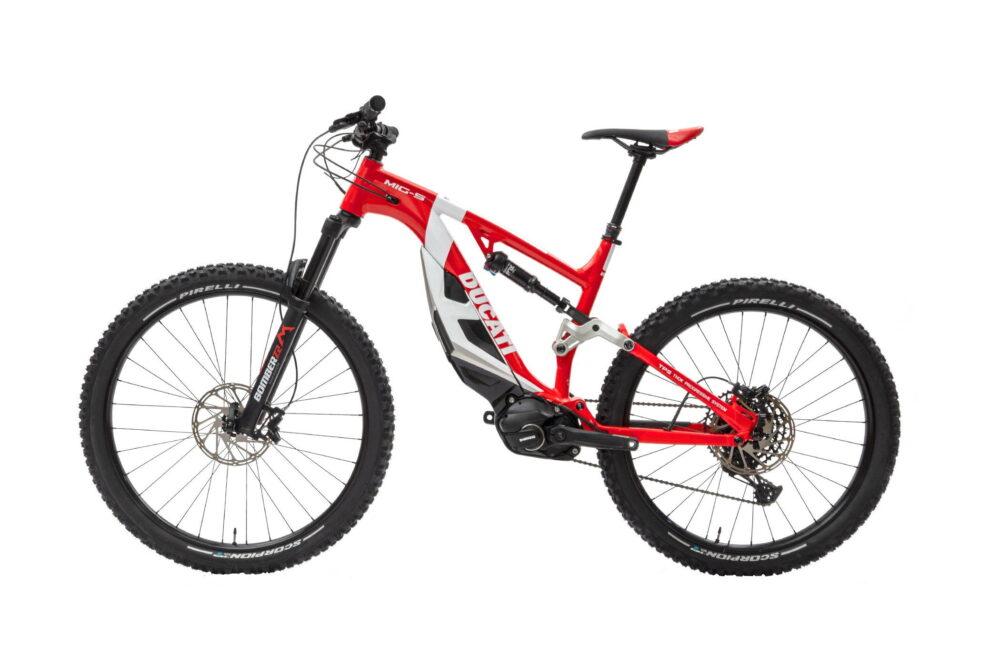 ducati mig-s e-bike left side
