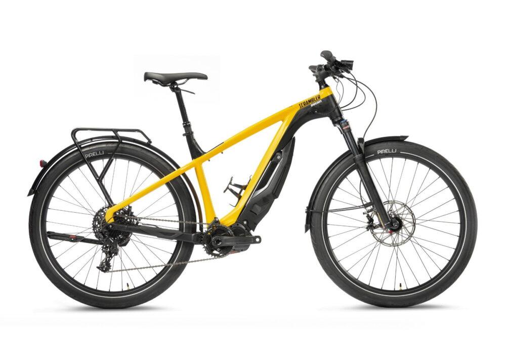 ducati e-scrambler e-bike right side