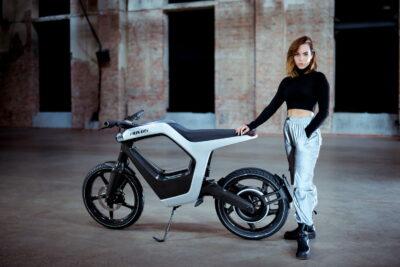 novus electric bike carbon fiber